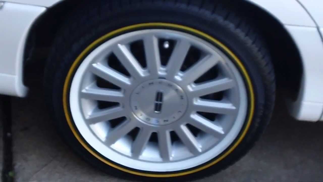 Lincoln Town Car W Vogue Tyres Youtube
