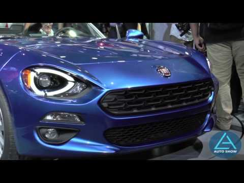 All-new 2017 Fiat 124 Spider revealed at 2015 LA Auto Show
