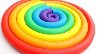 Learn Colors Play Doh Ice Cream Popsicles DIY Play Doh Compilation Modelling Clay Mighty Toys