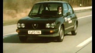 Autotest 1981 - Alfa Romeo Alfasud