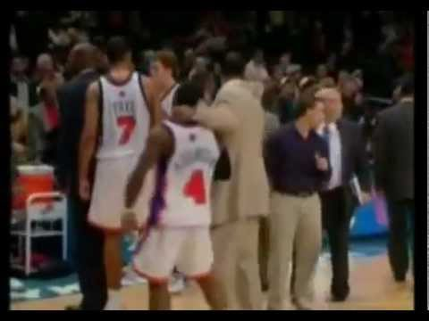 NY Knicks - Denver Nuggets Brawl 12/16/06