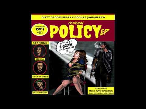03 - Zombies Rmx - Feat. Born Unique & Dj Tray - Foreign Policy - Godilla Jaguar Paw