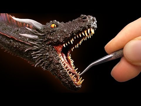 Download Sculpting Drogon from Game of Thrones Mp4 baru