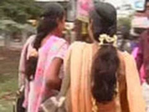 Girls Allege Strip-search By Chennai College video