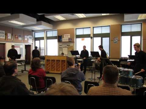Emerald Ridge High School Percussion Ensemble 2014 - Qualified for State!