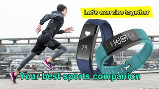 C11 Smart Fitness Bracelet Wristbands IP67 OLED Screen | Smart Band