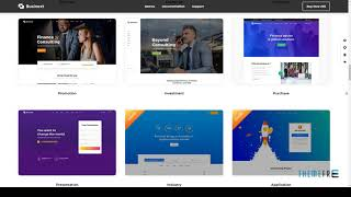 Businext - Supreme Businesses and Financial Institutions WordPress Th