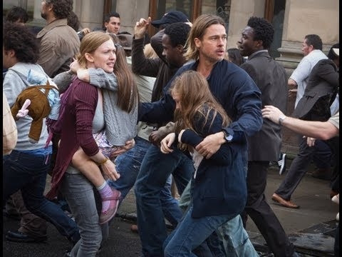 World War Z Official Movie Spot: Getting Out