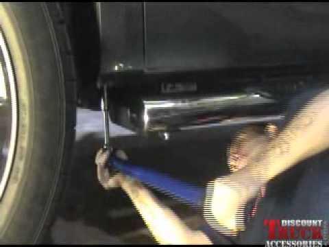 Oval Nerf Bars   Raptor Series Installation - YouTube