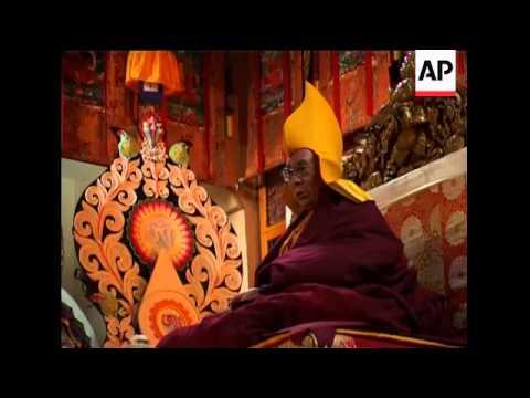 Dalai Lama says New Year overshadowed by grief