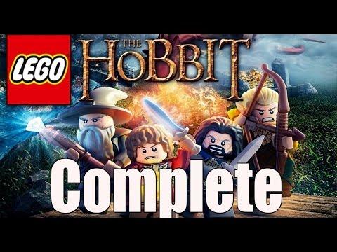LEGO Hobbit Complete Walkthrough - The Hobbit An Unexpected Journey Walkthrough