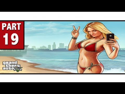 Grand Theft Auto 5 Walkthrough Part 19 - PORNO DAUGHTER! | GTA 5 Walkthrough