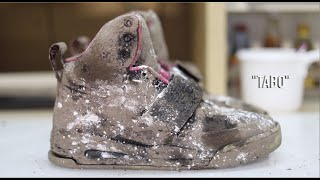 Cleaning the Dirtiest $2500 Nike Yeezy Blinks!