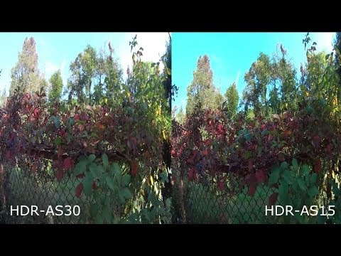 Sony Action Cam HDR-AS30 vs HDR-AS15 COMPARISON REVIEW