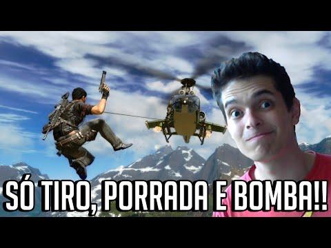 SÓ TIRO, PORRADA E BOMBA!! - Just Cause 2