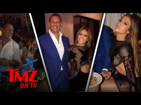 J LO and A-Rod Celebrate Their Birthdays Together | TMZ TV