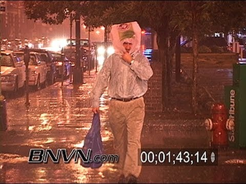 9/13/2005 Severe storm and high winds in Downtown Minneapolis, MN