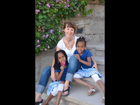 Girl's 1st trip back to Ethiopia, post adoption.
