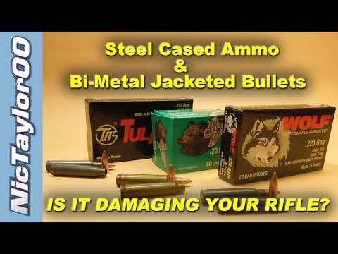 Wolf Ammo & Other Steel Cased 556 Damaging your AR15 ?