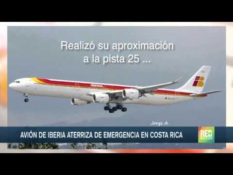 Milagroso aterrizaje de avión en Costa Rica