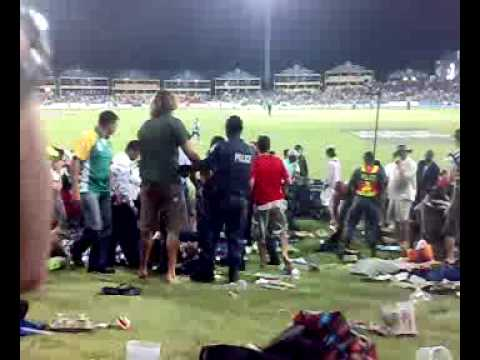 Huge Fight At The Icc Champions Opening Match Between South Africa And Sri Lanka video
