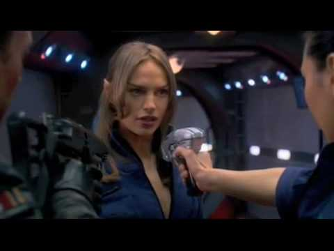 T'pol hoshi-fighting Scene. video