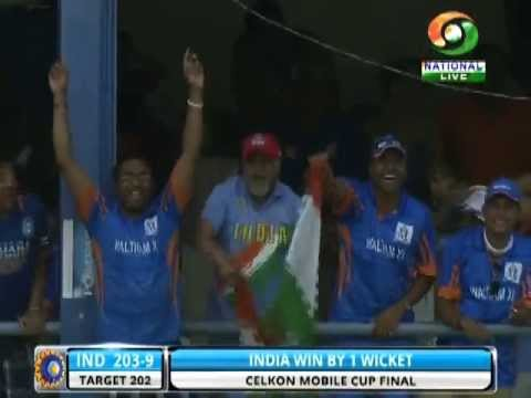 India wins Tri-Nation series against Sri Lanka