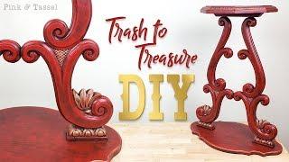 Trash into treasure! DIY Console Table