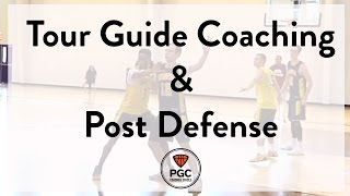 Tour Guide Coaching & Post Defense   Week 3   PGC Coaches Circle   Powered by TeamSnap