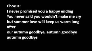 [DWNLOAD]autumn goodbye - Britney spears lyrics