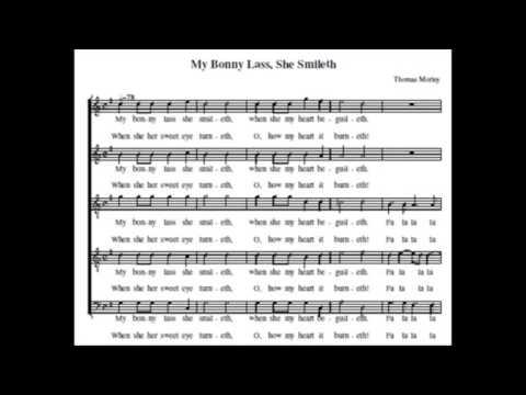 Thomas Morley - My bonny lass she smileth