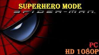 Spiderman The Movie 2002, SuperHero Mode FULL GAME HD 1080P