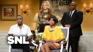 Jay-Z and Solange Cold Open - Saturday Night Live