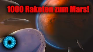 1000 Raketen zum Mars!  - Clixoom Science & Fiction