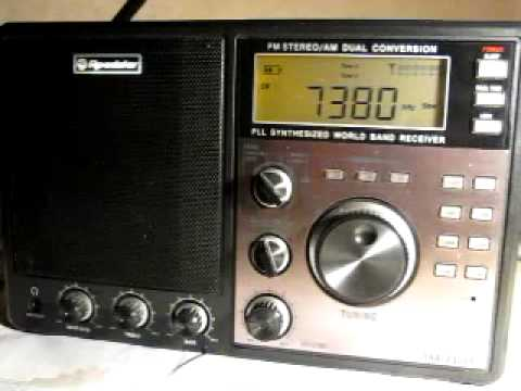 How nice Shortwave Radio can sound - China Radio International on my Roadstar TRA-2350P