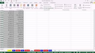 Highline Excel 2013 Class Video 10: AND & BETWEEN Criteria: SUMIFS, DSUM, COUNTIFS, AVERAGEIFS