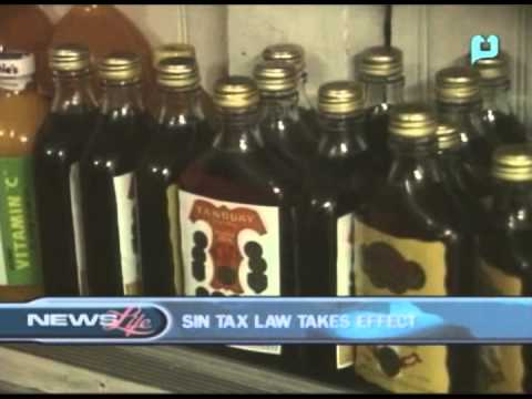 Sin Tax Law takes effect