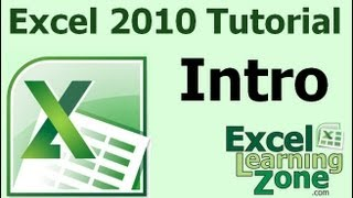 micorsoft excel 2010 tutorial