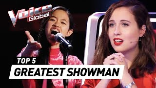 GREATEST SHOWMAN covers in The Voice