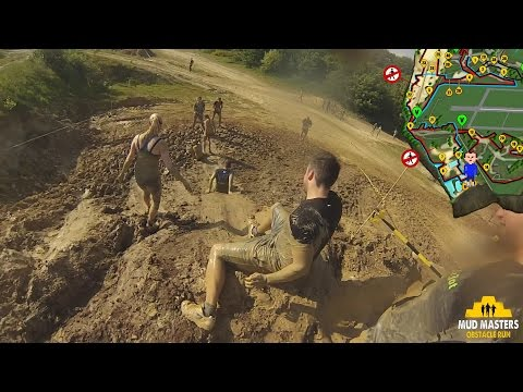 Mud Masters Weeze 2015 - 6km - Group: Victor - All Obstacles - FullHD