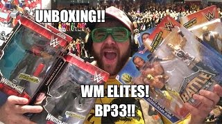 SUPREME WWE Figure UNBOXING! WrestleMania 31 Elites! Battle Pack Series 33 Mattel Toys!