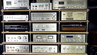 My vintage hifi collection 2017 marantz pioneer technics akai scott dual kenwood sony