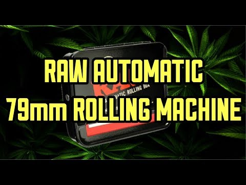 RAW 79mm AUTOMATIC ROLLING MACHINE REVIEW & UNBOXING #fullmeltfusion #RawLife