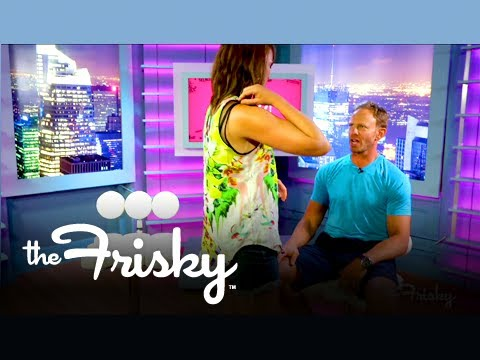 Ian Ziering on How to Give a Lapdance