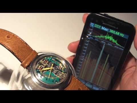 Bulova Accutron 214 Spaceview - with sound and spectrum analyzer