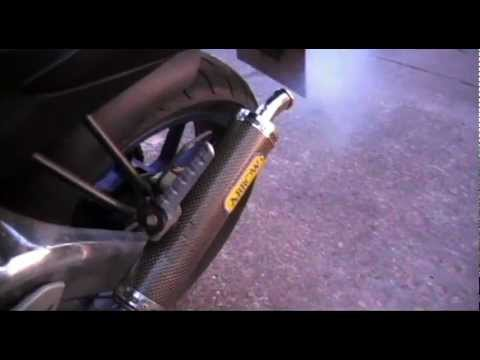 Aprilia rs 125- Stock vs Arrow exhaust