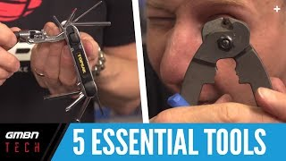 5 Essential Tools You Need To Work On Your Mountain Bike