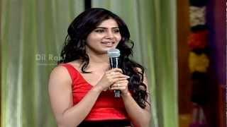 Seethamma Vakitlo Sirimalle Chettu - Samantha - Seethamma Vakitlo Sirimalle Chettu Audio Launch - SVSC