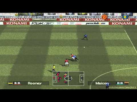 Pro Evolution Soccer 6 - INTER vs MANCHESTER UNITED