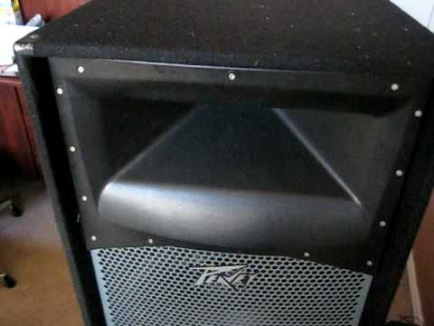 Peavey SP4 speakers